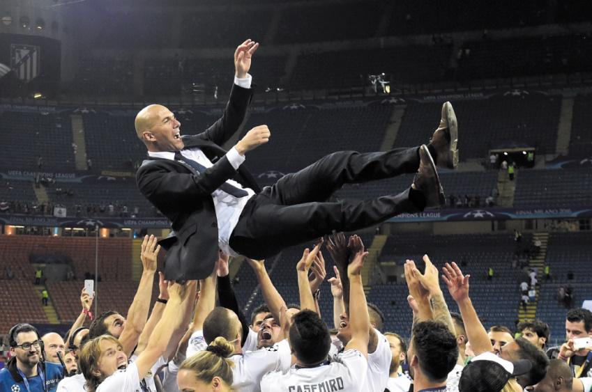 Ligue des champions : Zidane pour rejoindre Sacchi dans la légende