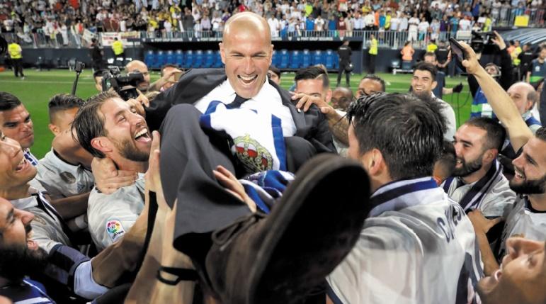 Zidane Le Real, c'est le club de ma vie