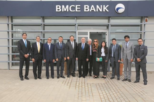 "BMCE Bank s'installe à ""Kenitra Atlantic Free Zone"""