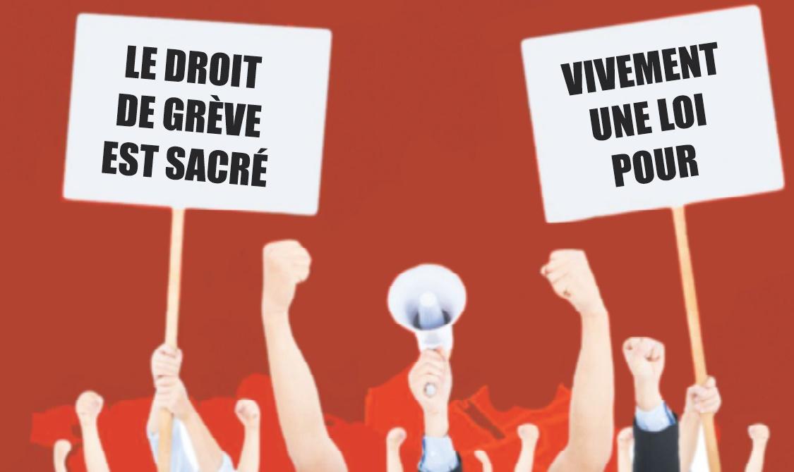 La loi organique sur le droit de grève remise sur les rails : Mettre un terme à une anomalie vieille d'un demi-siècle