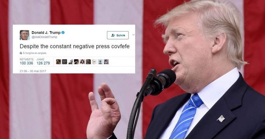 Insolite :  Le tweet de Trump