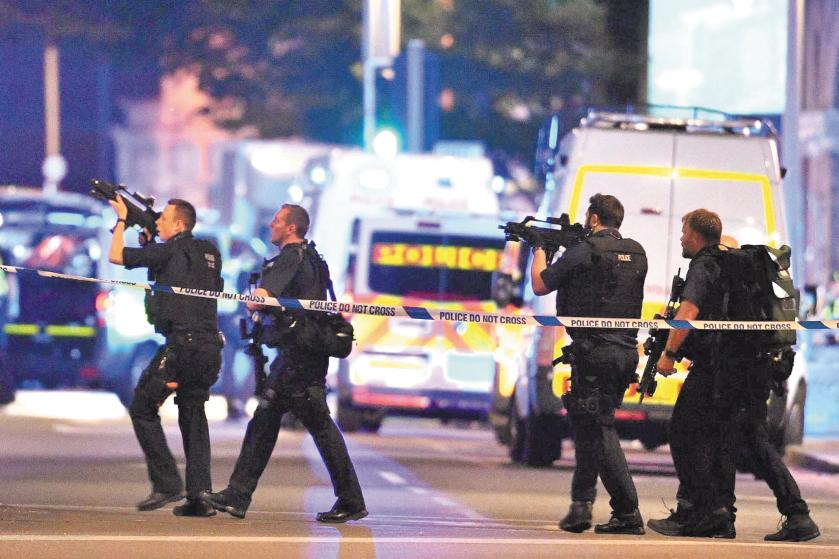 La barbarie terroriste fait sept morts à Londres