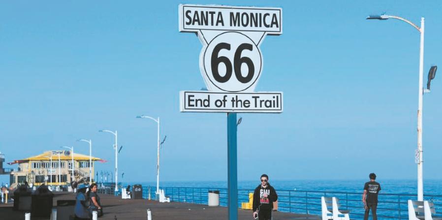 La Route 66, traversée mythique de l'Amérique profonde, en pleine renaissance