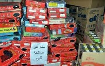 Saisie et destruction de denrées alimentaires impropres à la consommation