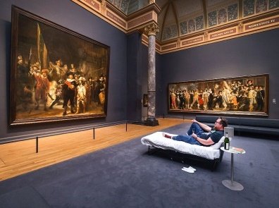 Insolite : Une nuit dans le musée
