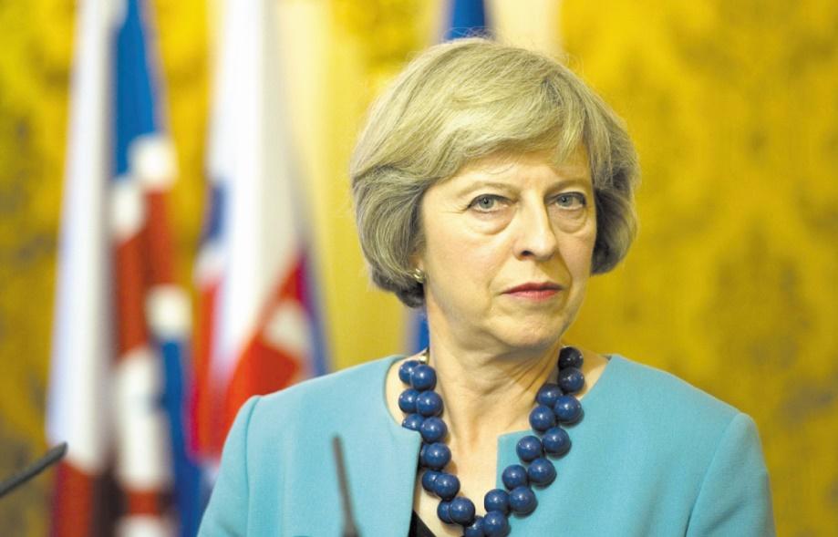 Echec électoral de Theresa May