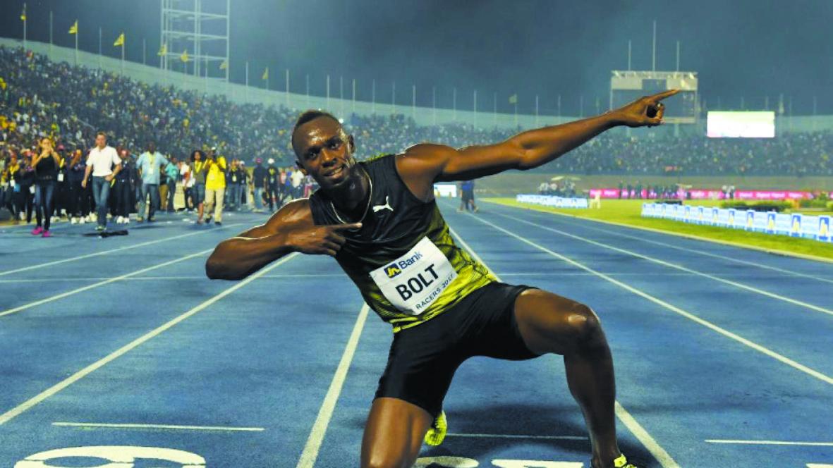 """""""L'Eclair"""" Bolt illumine une dernière fois Kingston"""