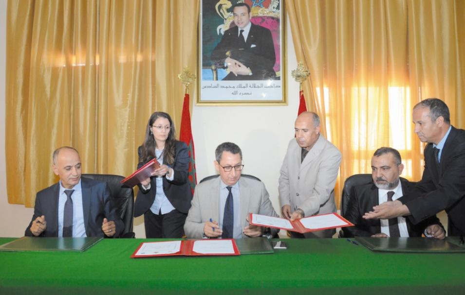 Signature d'une convention pour le soutien du RCOZ