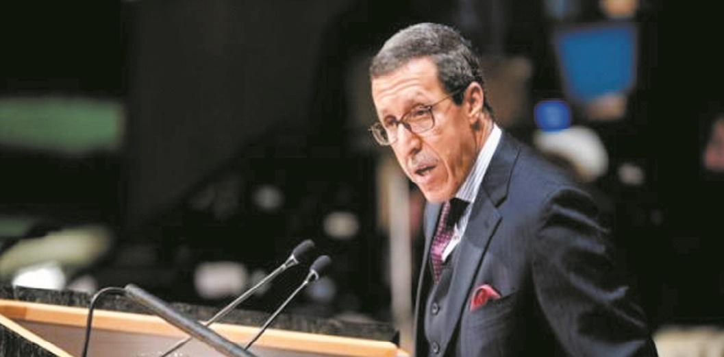 Le représentant algérien à l'ONU nie l'évidence du processus politique au Sahara marocain