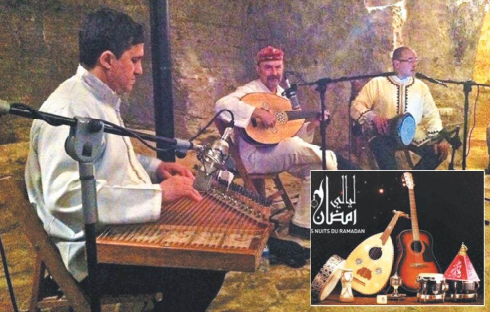 """Nuits du Ramadan : Le trio """"Rifak"""" berce les cœurs du public tangérois"""