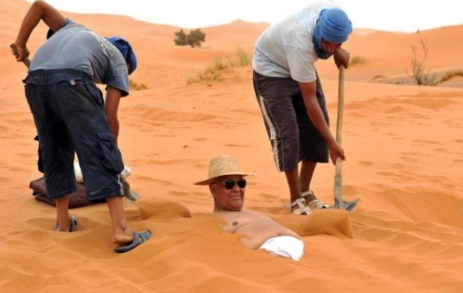 Le sable de Merzouga et du monde au cœur d'une exposition scientifique à Sao Paulo