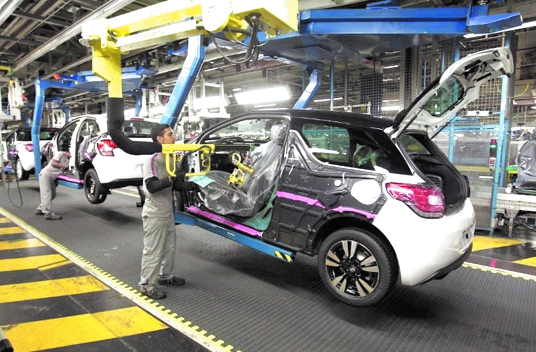 L'usine Peugeot-Citroën de Kénitra table sur une production annuelle de 200.000 véhicules