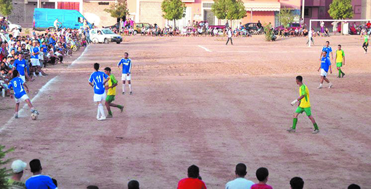 Les traditionnels tournois de quartiers de football durant le Ramadan
