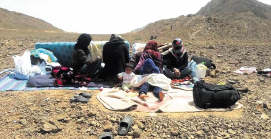 Le Maroc met fin au calvaire des 13 familles syriennes bloquées à la frontière avec l'Algérie