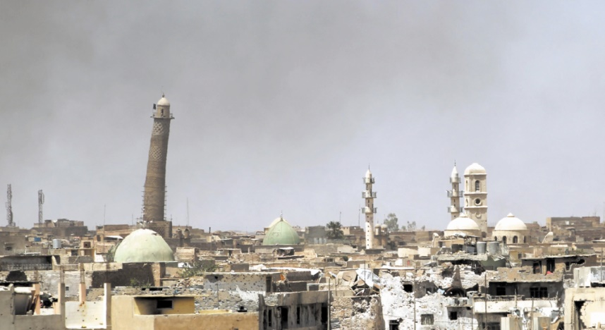 Destruction de la mosquée Al-Nouri de Mossoul