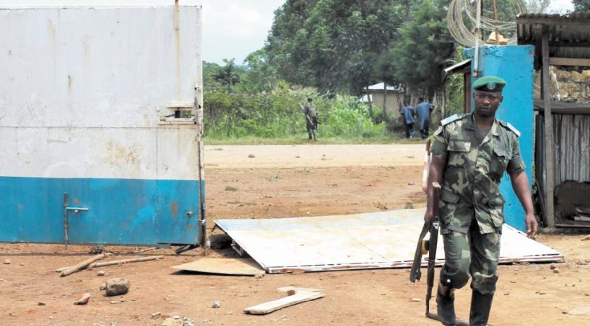 Affrontements à l'arme lourde dans l'est de la RDC