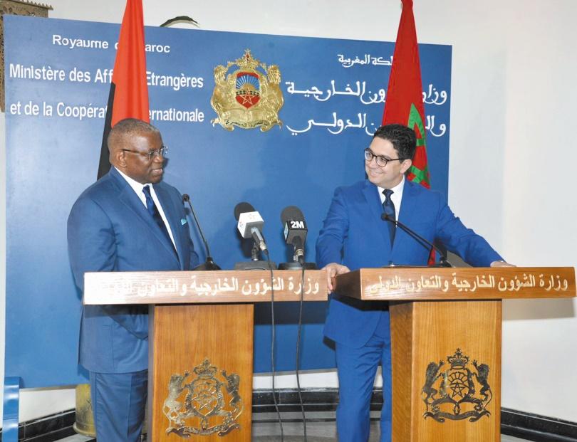 Malgré les manœuvres dilatoires du Polisario, le Maroc et l'Angola  réchauffent leurs relations bilatérales