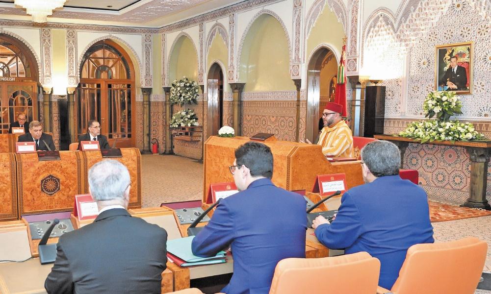 S.M le Roi préside un Conseil des ministres à Casablanca