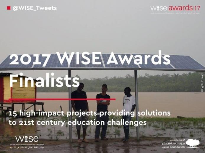 La Fondation Zakoura parmi les 15 finalistes des WISE Awards 2017