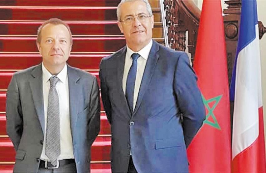 Mohamed Benabdelkader et Thierry Rogelet.