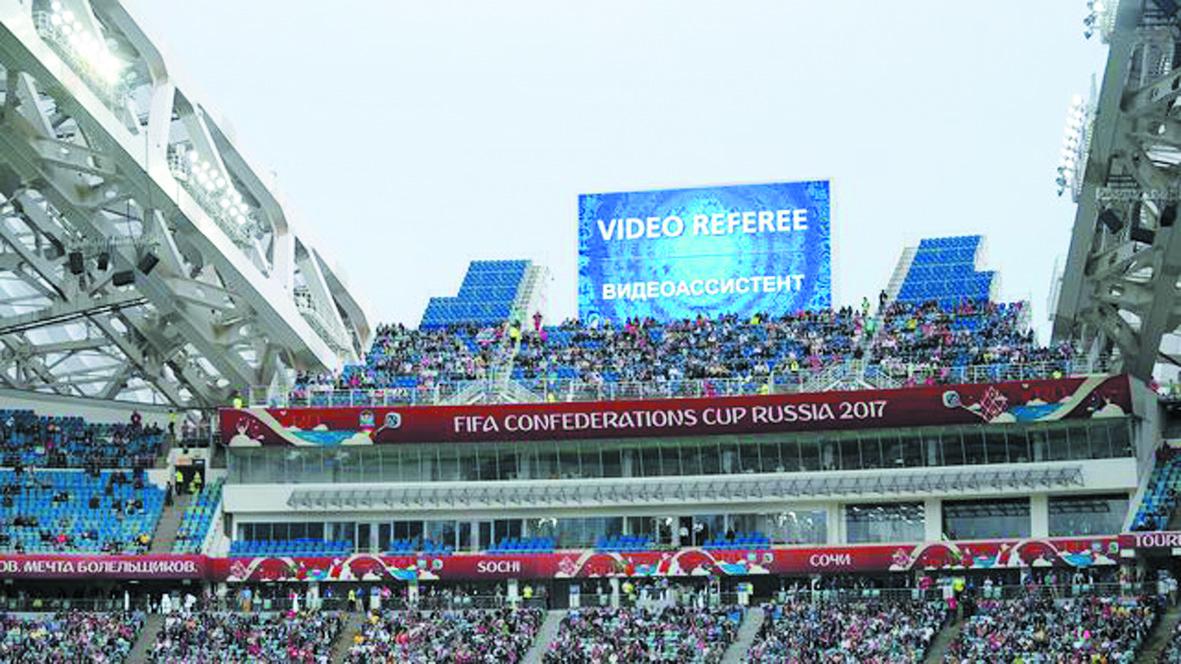 Coupe des  Confédérations  La vidéo  ravit la Fifa