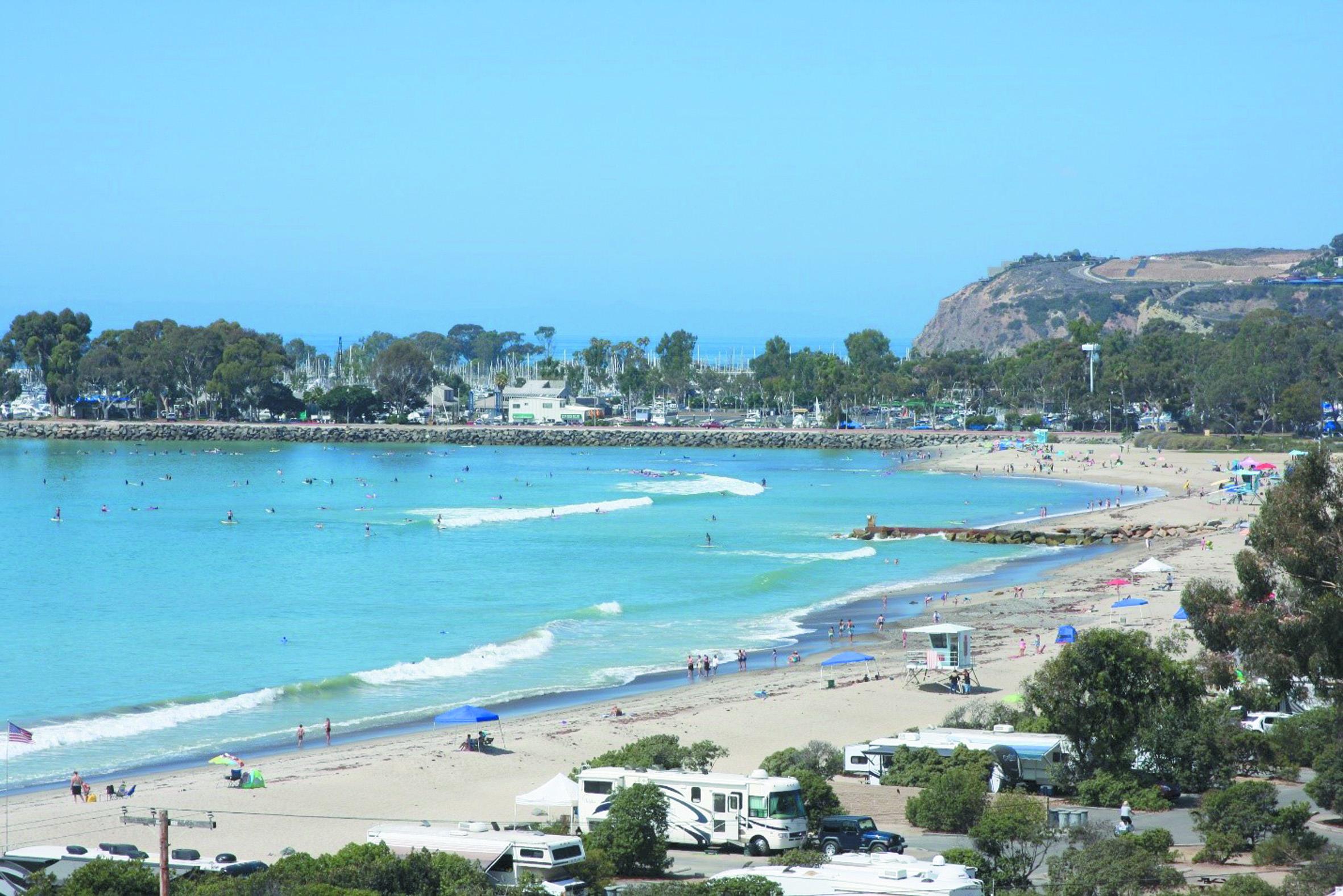 Il ne vaut pas mieux aller sur ces plages : Doheny Beach (Californie-USA)