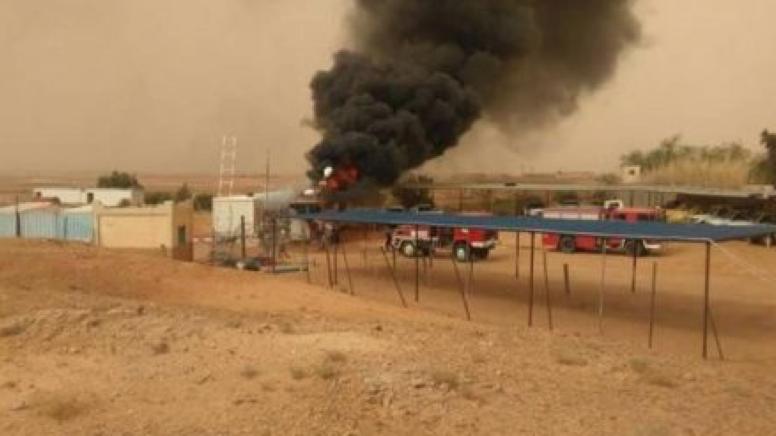 """Grave incendie au siège du HCR à Tindouf Situé au camp dit «""""Chahid Hafed"""" près de Rabouni"""