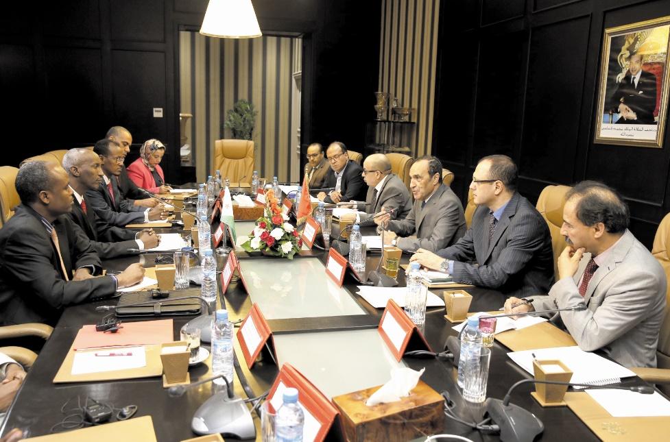 La coopération parlementaire entre le Maroc et Djibouti examinée à Rabat