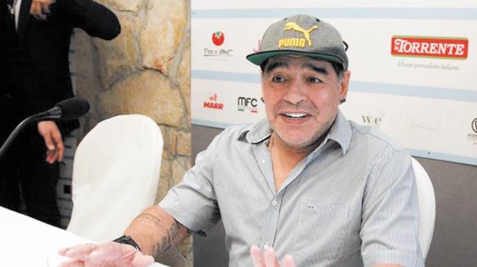 Diego Maradona devient citoyen d'honneur de Naples