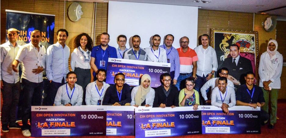 """Consécration de cinq équipes de jeunes promoteurs au """"CIH Open Innovation"""""""