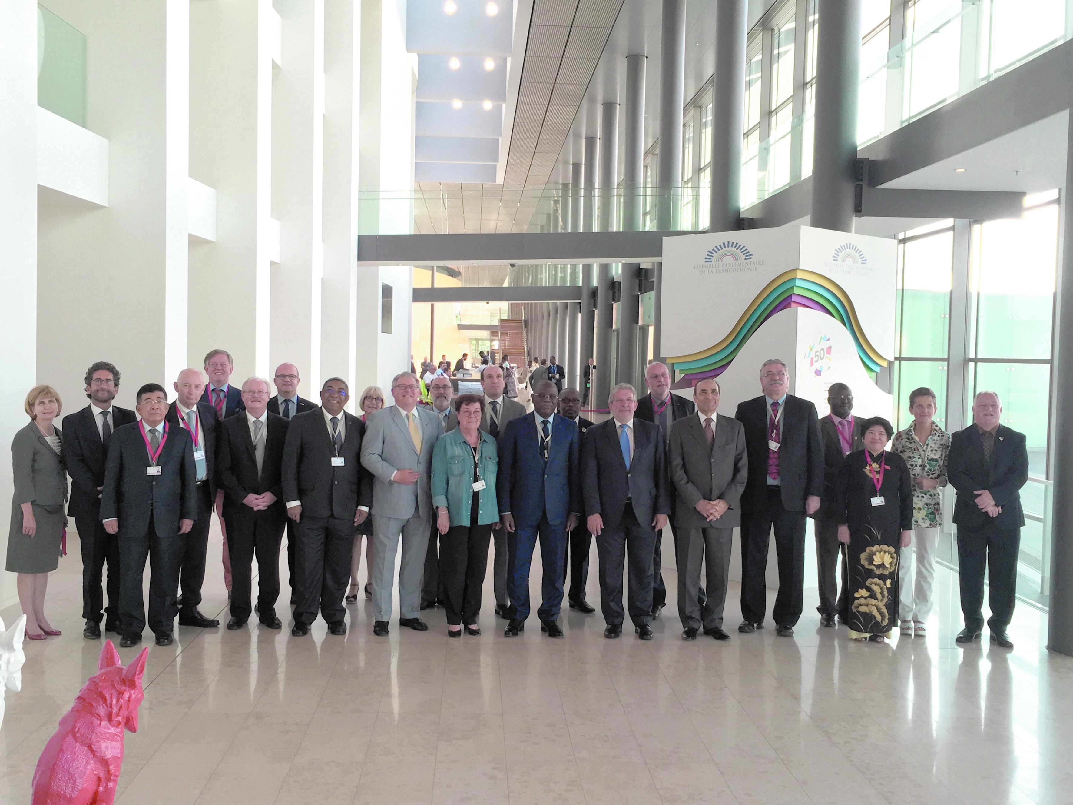 Intense activité de Habib El Malki à la réunion de l'APF