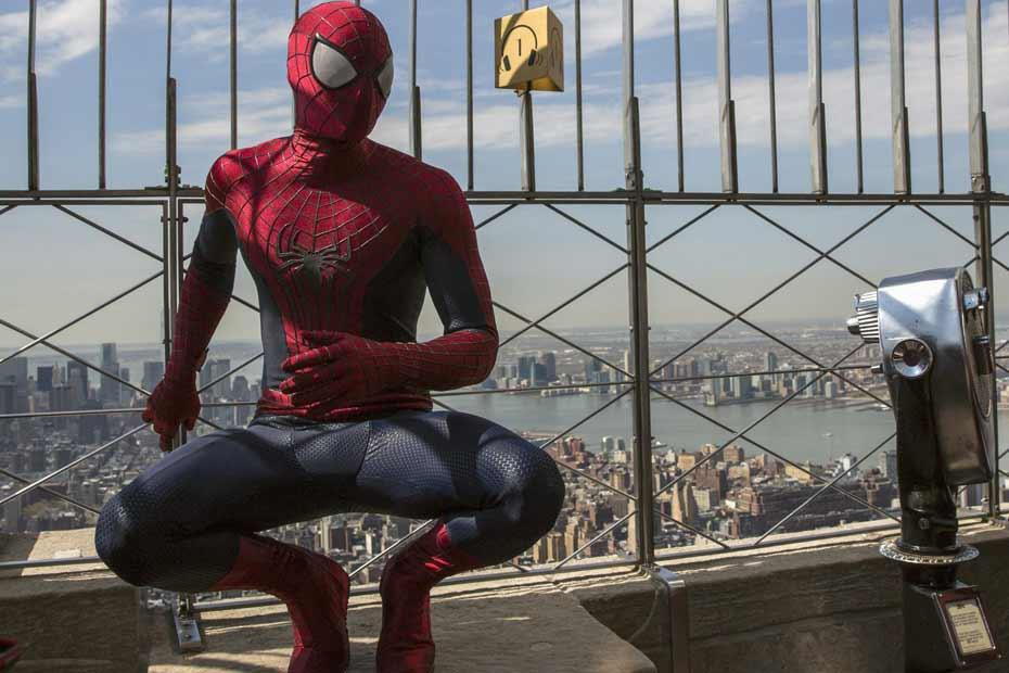 Le nouveau Spiderman en tête du box-office