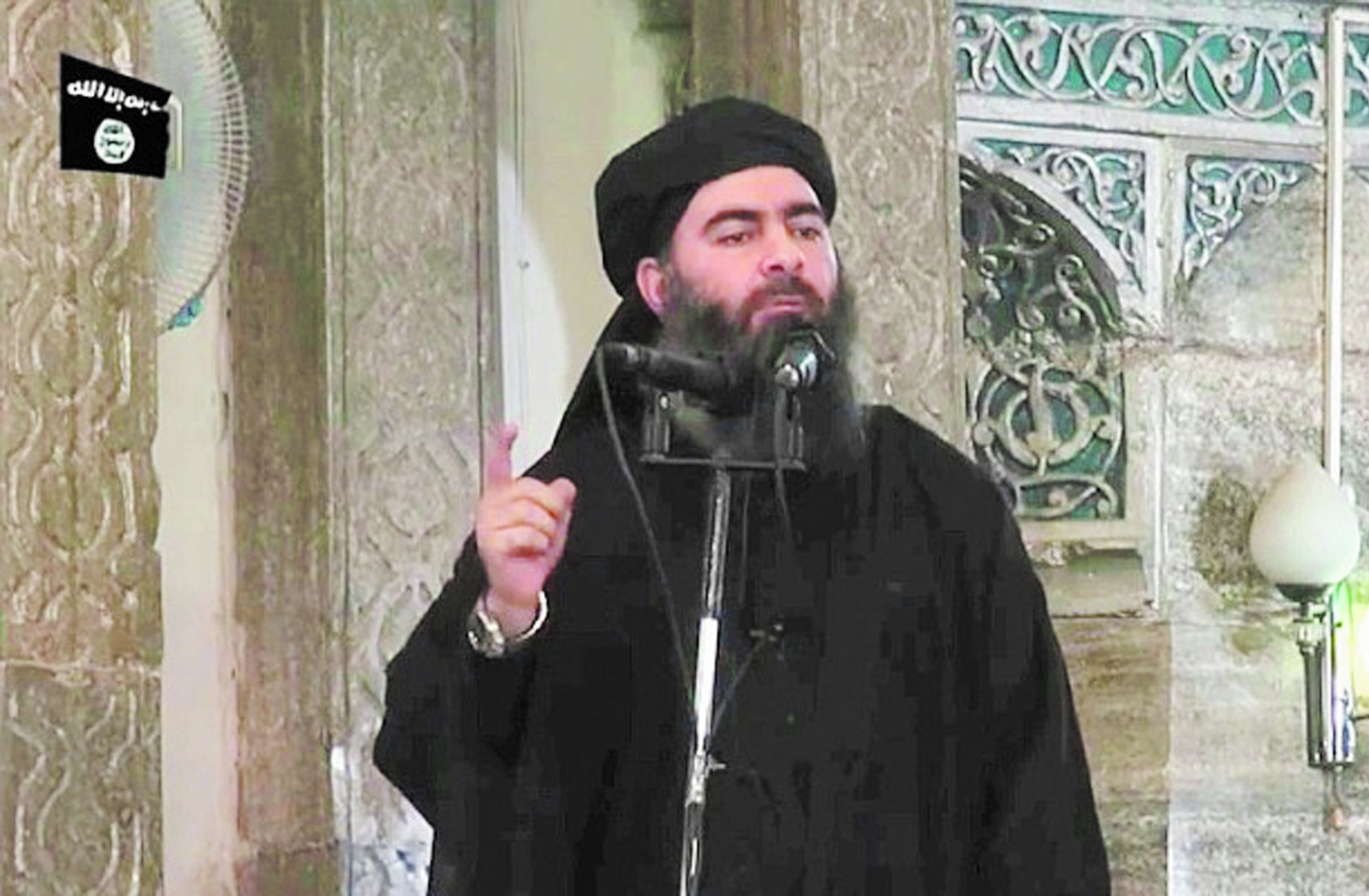 "Abou Bakr al-Baghdadi, le ""calife"" invisible du groupe terroriste EI"