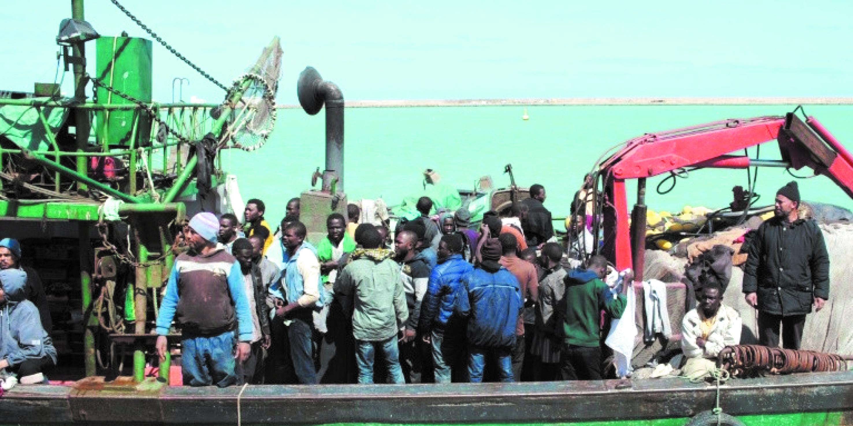 Plus de 4.600 migrants secourus au large de la Libye cette semaine