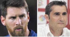 Messi dans l'inconnu avec Valverde
