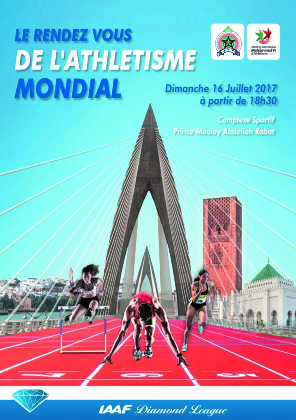 Thompson et De Grasse ont honoré leur statut de stars au meeting international Mohammed VI d'athlétisme