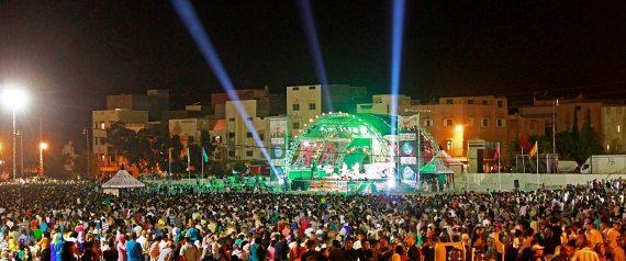 Le Festival international du Raï d'Oujda s'ouvre en grande pompe