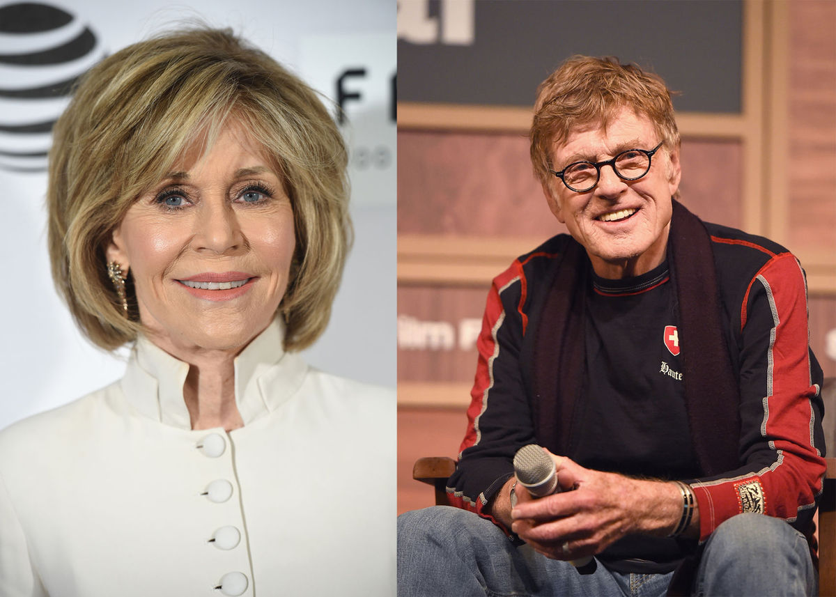 Lions d'Or à Jane Fonda et Robert Redford pour l'ensemble de leur carrière