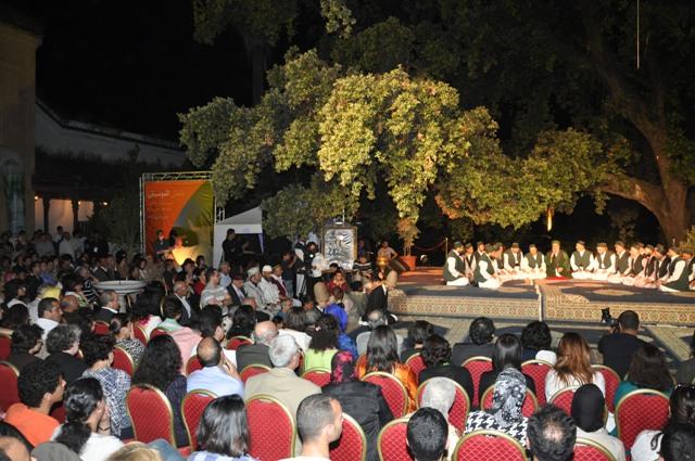 Festival de Fès  de la culture soufie La route du  soufisme du  Maroc à l'Inde