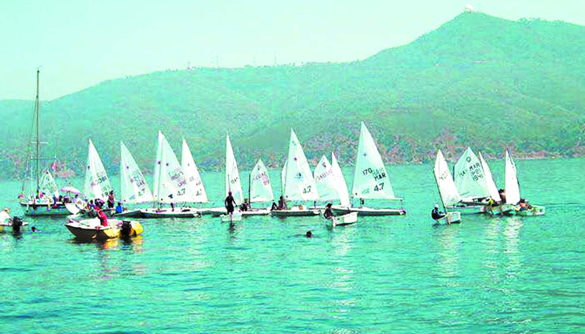 Tableau relevé pour la 14ème Semaine  nautique internationale de M'diq