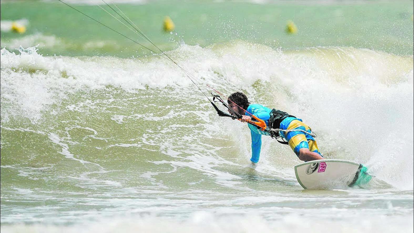 "Clôture en apothéose du  championnat ""Moulay El Hassan GKA Kitesurf world tour Morocco-Dakhla 2017"""