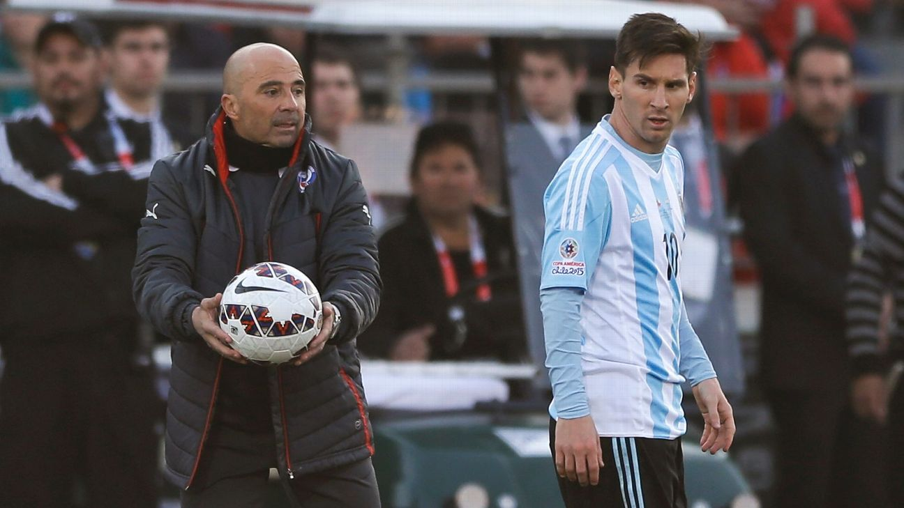 Sampaoli : Messi, seul  titulaire  indiscutable avec l'Argentine