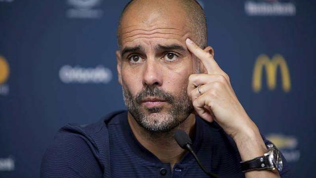 Guardiola: City n'est  pas responsable de  l'explosion des transferts