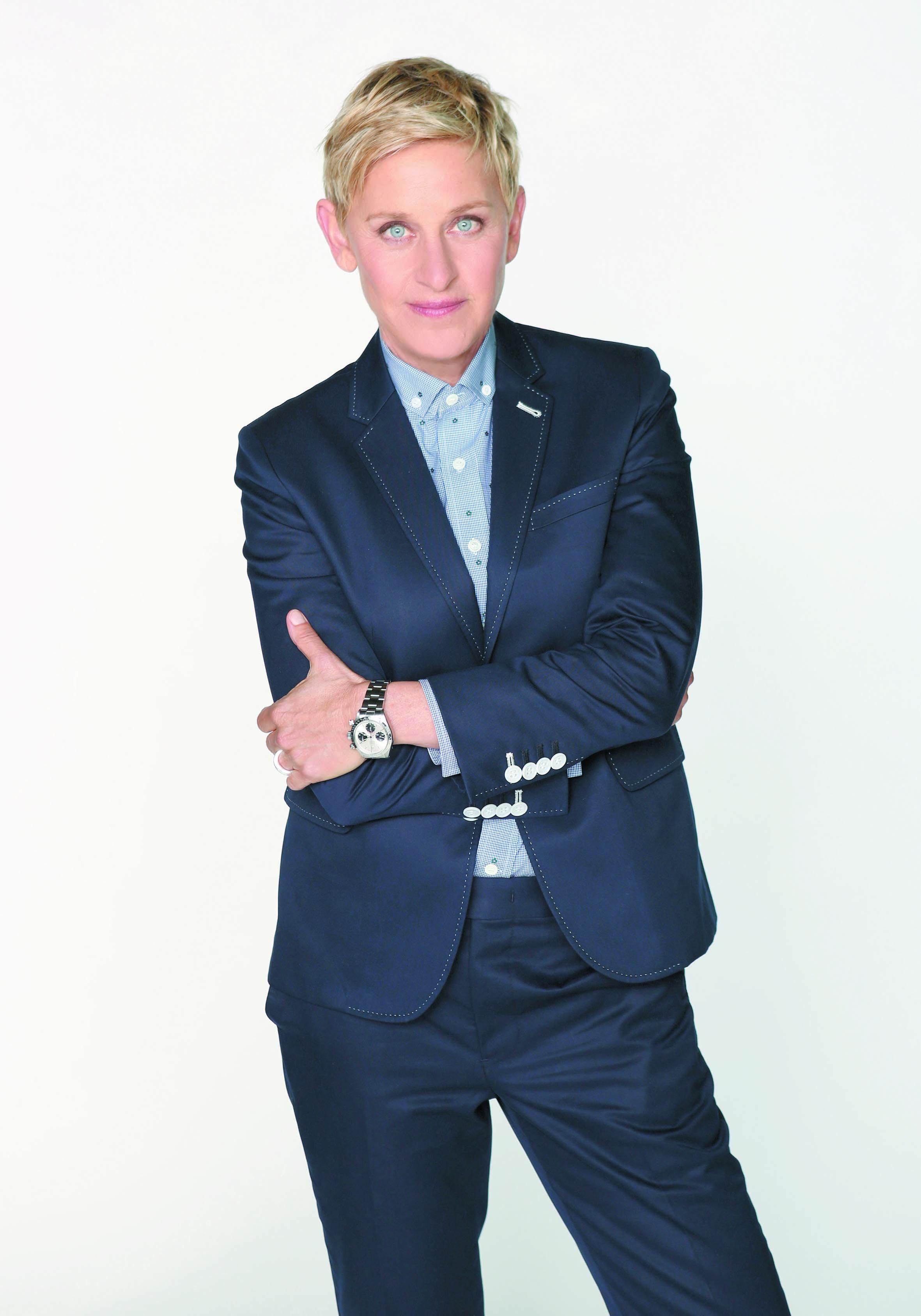 Stars les mieux payées : Ellen DeGeneres (77 M$)