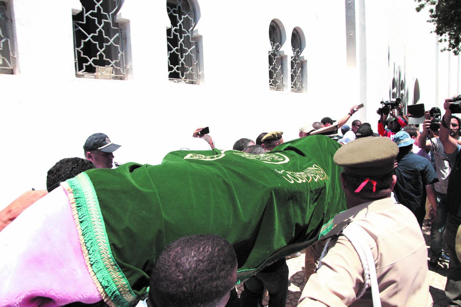 Funérailles grandioses de Abdelmjid Dolmy