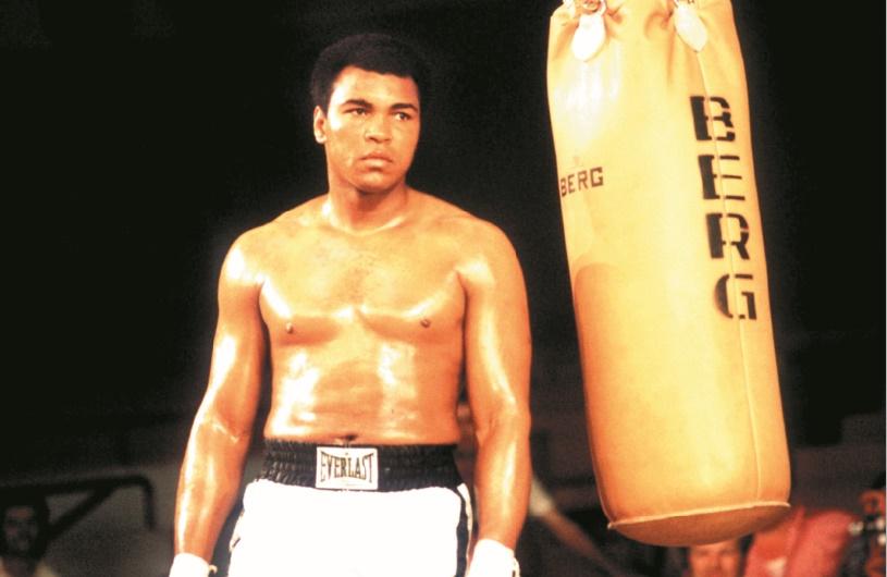 "Les gants de boxe ""made in Mexico"" d'une légende nommée Mohamed Ali"