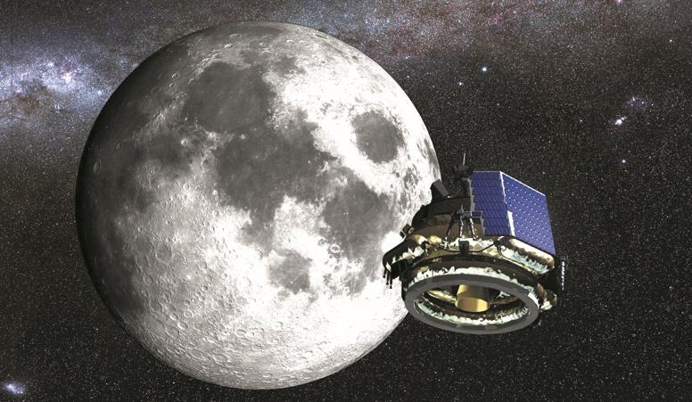 Une jeune pousse de Floride à la conquête de la Lune