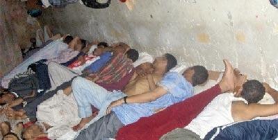 Surpeuplement et mauvaises conditions d'incarcération