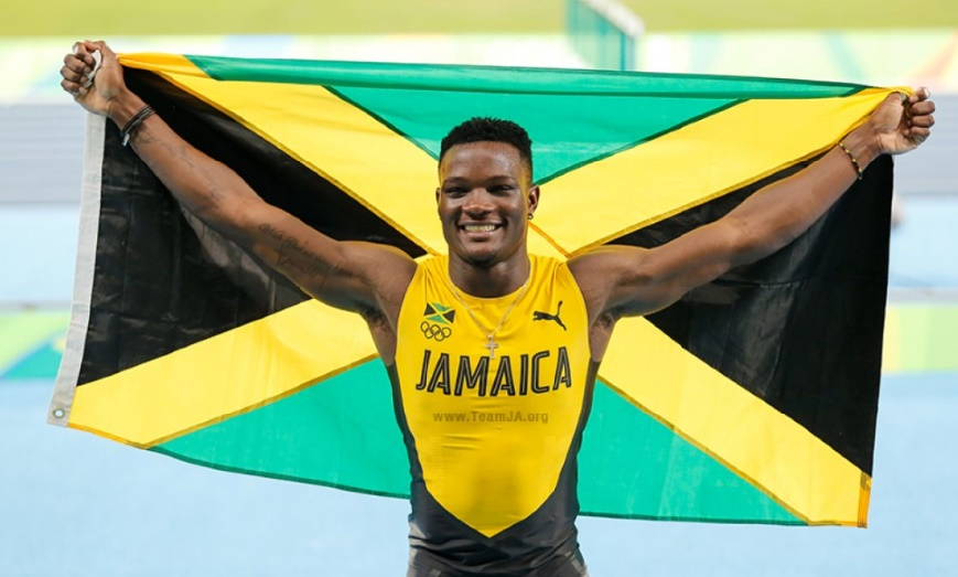 Omar McLeod panse aux haies les échecs de Bolt et Thompson