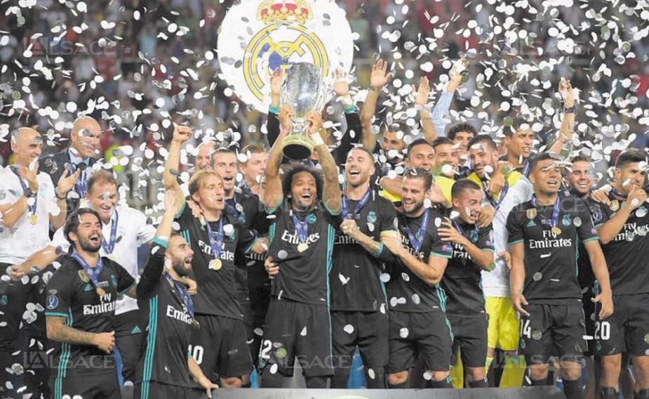 Le Real s'offre United et la Supercoupe d'Europe